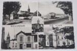 VIAS - CPSM 34 - Multivues : Bourg; Eglise; Rues ; Château .... - France