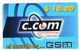 CUBA - C COM (GSM RECHARGE) - 10 - USED    -  RIF. 2679 - Cuba
