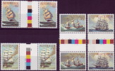 ( 1724 ) Australia - Transport -  Sailing Ships . - Ships