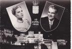 Monaco - Prince Rainier Princesse Grace 3 Cartes - Monaco