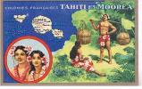Colonies Françaises TAHITI Et MOOREA - Tahiti