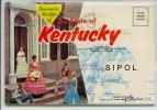 The State Of Kentucky - Souvenir Folder   Accordéon De 12 Vues - Etats-Unis