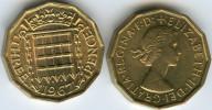 Grande-Bretagne Great Britain 3 Pence 1967 UNC KM 900 - F. 3 Pence
