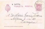 Entero Postal EL FERROL (Coruña) 1929. Alfonso XIII - 1850-1931