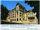 LISIEUX - GRAND HOTEL DE L'ESPERANCE : BROCHURE - Publicités