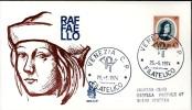 RAFFAELLO SANZIO 1974 FDC VENETIA - 6. 1946-.. Republic