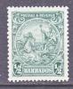Barbados  166a  Perf 13 1/2 X 12 1/2  * - Barbados (...-1966)