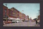 ILE DU PRINCE ÉDOUARD - CHARLOTTETOWN - PRINCE EDWARD ISLAND - STREET SCENE - BY S J HAYWARD MONTRÉAL - OLD CARS - Charlottetown