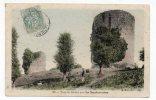 CPA Près LA SOUTERRAINE. Tour De Bridier, Colorisée, 1906 - La Souterraine