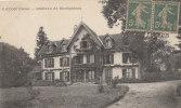 61 CETON Le Beau CHATEAU De MONTGATEAU Et Son PARC Femme à La Fenêtre En 1919 - France