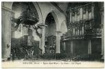 59 : BAILLEUL - EGLISE SAINT WAAST, LA CHAIRE, LES ORGUES - Francia