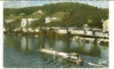 CPSM ORIVAL 76 Péniche Seine Et Les Roches 1966 - Francia