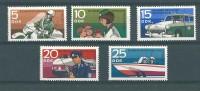 Allemagne DDR: 1292/ 96 **  Police - Police - Gendarmerie