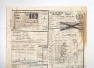 Lettre De Voiture Cachet De Gare LOKEREN 1922 Vers ESSCHEN + Poids Reconnu  --  B8/415 - Railway