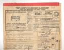 Lettre De Voiture Cachet De Gare FLOREFFE 1929 Vers ESSCHEN + Griffe De Pesage  --  B8/417 - Railway