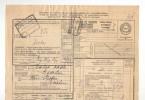Lettre De Voiture Cachet De Gare ALOST EST 1932 Vers ESSCHEN + Paraphe De Pesage  --  B8/418 - Railway