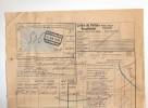Lettre De Voiture Cachet De Gare MOHA 1922 Vers ESSCHEN - Carrières Et Fours à Chaux De La Meuse  --  B8/424 - Railway