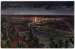 Denver - Lights Of Denver Fro Lookout Mountain - Sent From USA To Paris - Denver