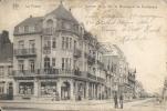 LA PANNE : Avenue De La Mer Et Boulevard  De Dunkerque - RARE CPA - Héliotypie De Graeve, Gand - Cachet De La Poste 1919 - De Panne