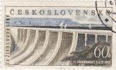 1959 Cecoslovacchia - Congresso Politico A Praga - Diga - Czechoslovakia
