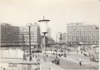 Berlin Germany, Alexanderplatz Square Street Scene, Tram, Auto Truck, C1940s Vintage Photograph - Places