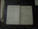 N° 135  Du  8 Janvier  1910        LA MAISON DE DANSE         Par  Nozière  Et Ch. Muller - Théâtre
