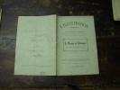 N° 152  Du  18 Juin  1910            LE MARIAGE DE TELEMAQUE          Par  Jules Lemaitre Et  Maurice  Donnay - Théâtre