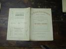 N° 5  Du  29 Mars 1913       LES ANGES GARDIENS          3ème   Partie - Théâtre
