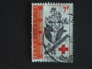 Congo Republique Republiek 1963 Rode Kruis Croix Rouge Cinchona Plante Yv COB 500 O - Republiek Congo (1960-64)