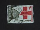 Congo Republique Republiek 1963 Rode Kruis Croix Rouge Infirmière Verpleegster Yv COB 501 O - Republiek Congo (1960-64)