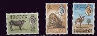 0280 - Bechunaland  ** - N° 130 à 132 - Lions , Etc.. - Bechuanaland (...-1966)