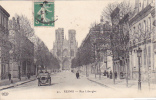 18565 REIMS France 51 *  RUE LIBERGIER 1914  -91 ELD-VOITURE ANCIENNE Immatriculée : 125 N 4 ?