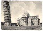 PISA - La Torre Pendente E L'Abside Della Cattedrale. Viaggiata 1956 - Pisa