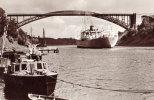 Nord-ostsee Kanal Levensauer Hochbrücke The Lione Stock - Kiel