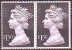 UK -  QUEEN LARGE  1.50  - PIAR - 1986  - ** MNH - 1952-.... (Elisabetta II)