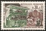 FR 1589 - Journée Du Timbre - Omnibus De Transport Des Facteurs  1969 - France
