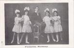 18604 La Famille SEMAY, Troupe De Cirque Belge. Belgique.  Sans éditeur