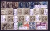 Belgien: Lot Von Alten Marken Gestempelt, Katalogpreis 195,--EUR !! - Sammlungen