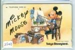 Télécarte Japon  (3503)   DISNEY *  Phonecard Japan * TELEFONKARTE * - Disney