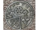 Médaille En étain, St Silvant, Saint-Sauvant, Citoyen D´Honneur, Confrérie Mr Martin-Civat, 1973, Raisin Clef - Tourist