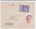 ARABIE SAOUDITE - 1949 - ENVELOPPE Par AVION De DJEDDAH Pour COPENHAGUE (DANEMARK) - Arabie Saoudite