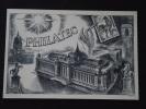 """PHILATEC - Carte De 2 Volets - """" Meilleurs Voeux """" - Légèrement Tâchée - Non Voyagée - Philatelic Exhibitions"""