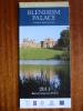 Blenheim Palace England World Heritage Site 2011 Leaflet Brochure Flyer Handbill - Advertising
