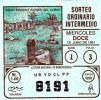 Republica De Panama - Loteria - Lottery  - Juego Indigena (Museo Del Cano) - Indian Site- 1991 - Lottery Tickets