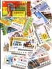 Portugal  200 Bilhetes De Lotaria Todos Diferentes Vários Anos - Billetes De Lotería