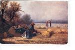 Raphael Tuck Oilette Village Life In Armenia No 7691 Armenia The Noonday Rest Bail Of Hay - Tuck, Raphael