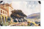 Raphael Tuck Oilette Baden Baden No 675 B Weite  Neues Schloss Terrasse - Tuck, Raphael