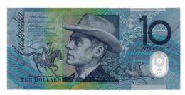 AUSTRALIA $10 1988 P49 SHIP WORLD FIRST POLYMER COM+FLD - Australia