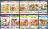 BURUNDI 1992/93 MUSHROOMS SC#685-94 RARE Full SET  MNH CV$43.80 (6D044) - Burundi