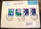 == Russland Cv. Riga 1977 Mit  A+B Auif Brief Selten !!  Kosmos - Space - Cartas